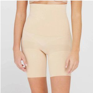 Assets by Spanx Remarkable Results High Waisted Mid Thigh Shaper Tummy Control